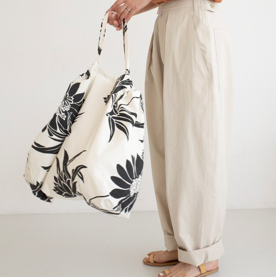 Cotton flower bag