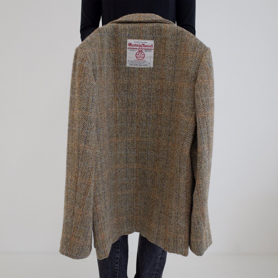 Harris tweed check jacket