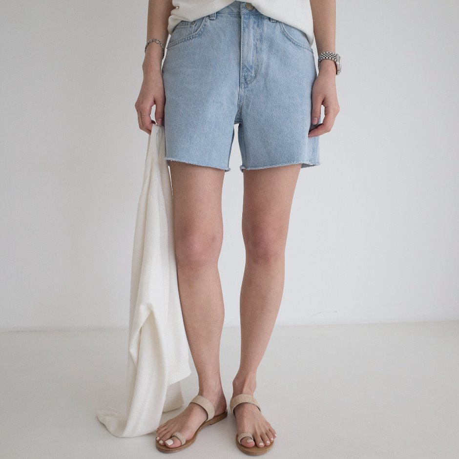 Hanna indigo short pants