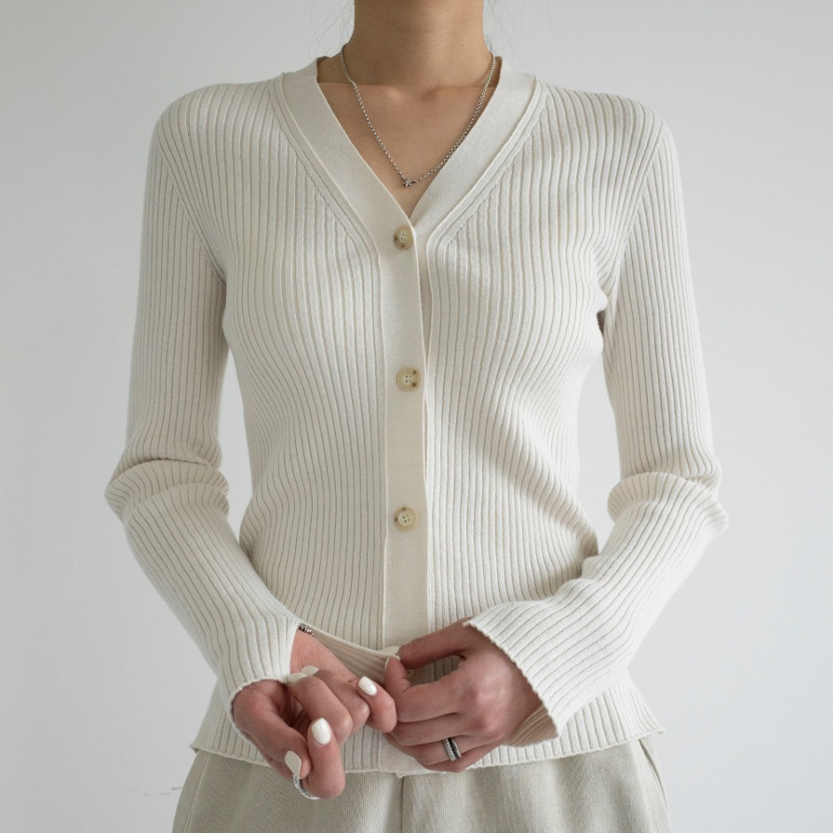 Roy v neck  cardigan