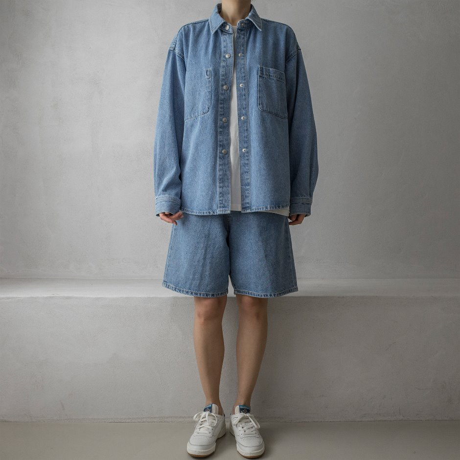 River denim shirt