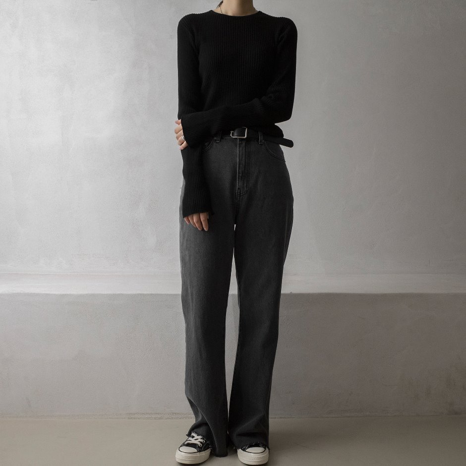 River black wide pants