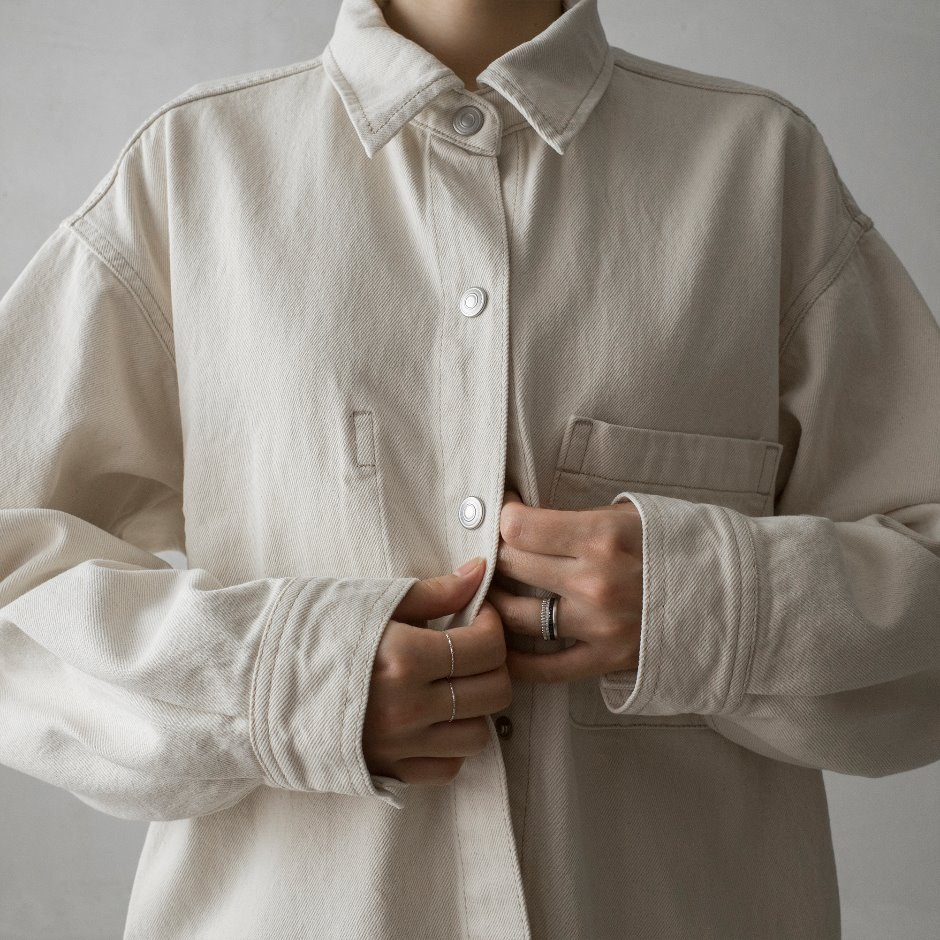 River natural shirt