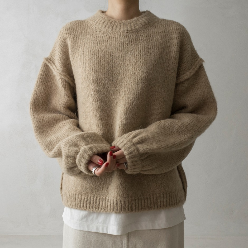 Daisy round pullover