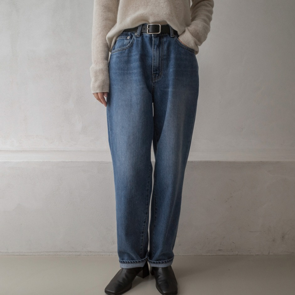 Soft lose denim pants