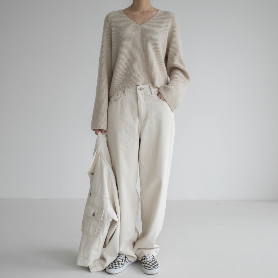 River natural loose pant